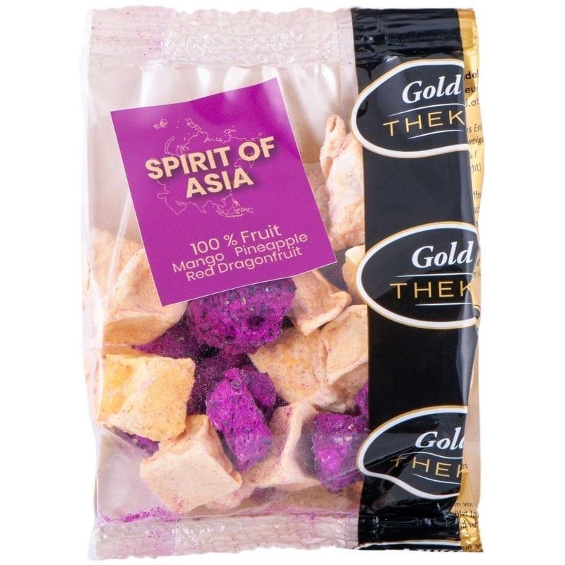 gefriergetrocknete Früchte GoldTHEKE - Spirit of Asia - Mango, Drachenfrucht, Ananas